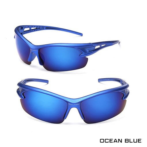 Robesbon Outdoor Sport Sunglasses Ocean Blue 1