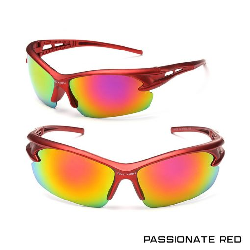 Robesbon Outdoor Sport Sunglasses Passionate Red 1