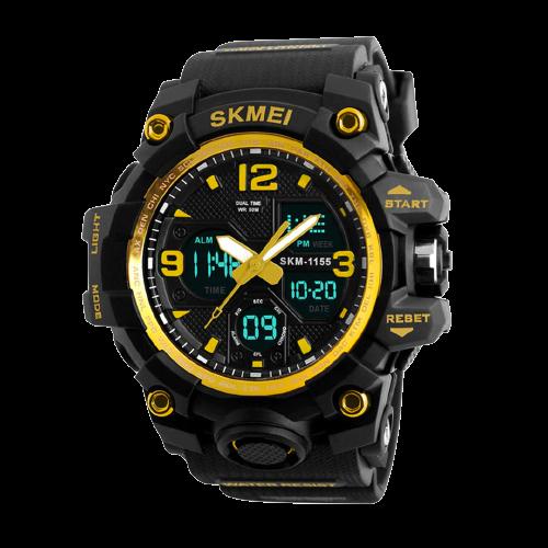 SKMEI 1155 Gold 2
