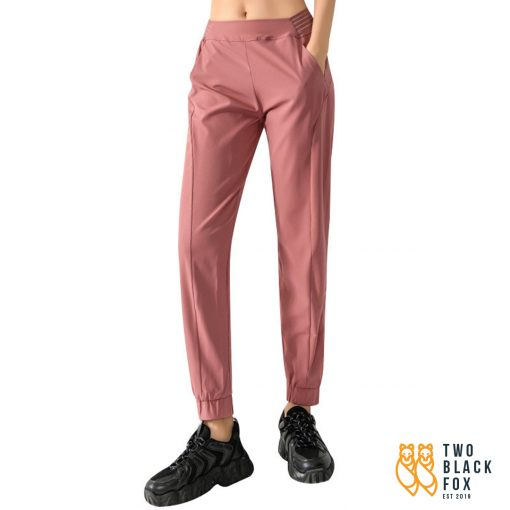 TBF Havana Jogger Pants Dark Pink