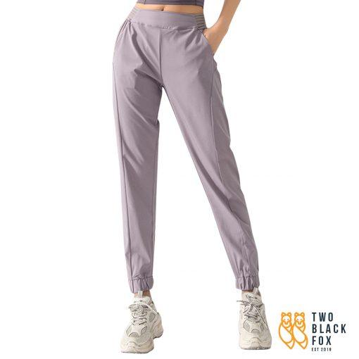 TBF Havana Jogger Pants Purple