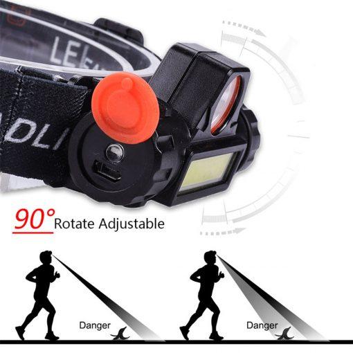 TBF Multifunction Rechargeable Headlamp 3