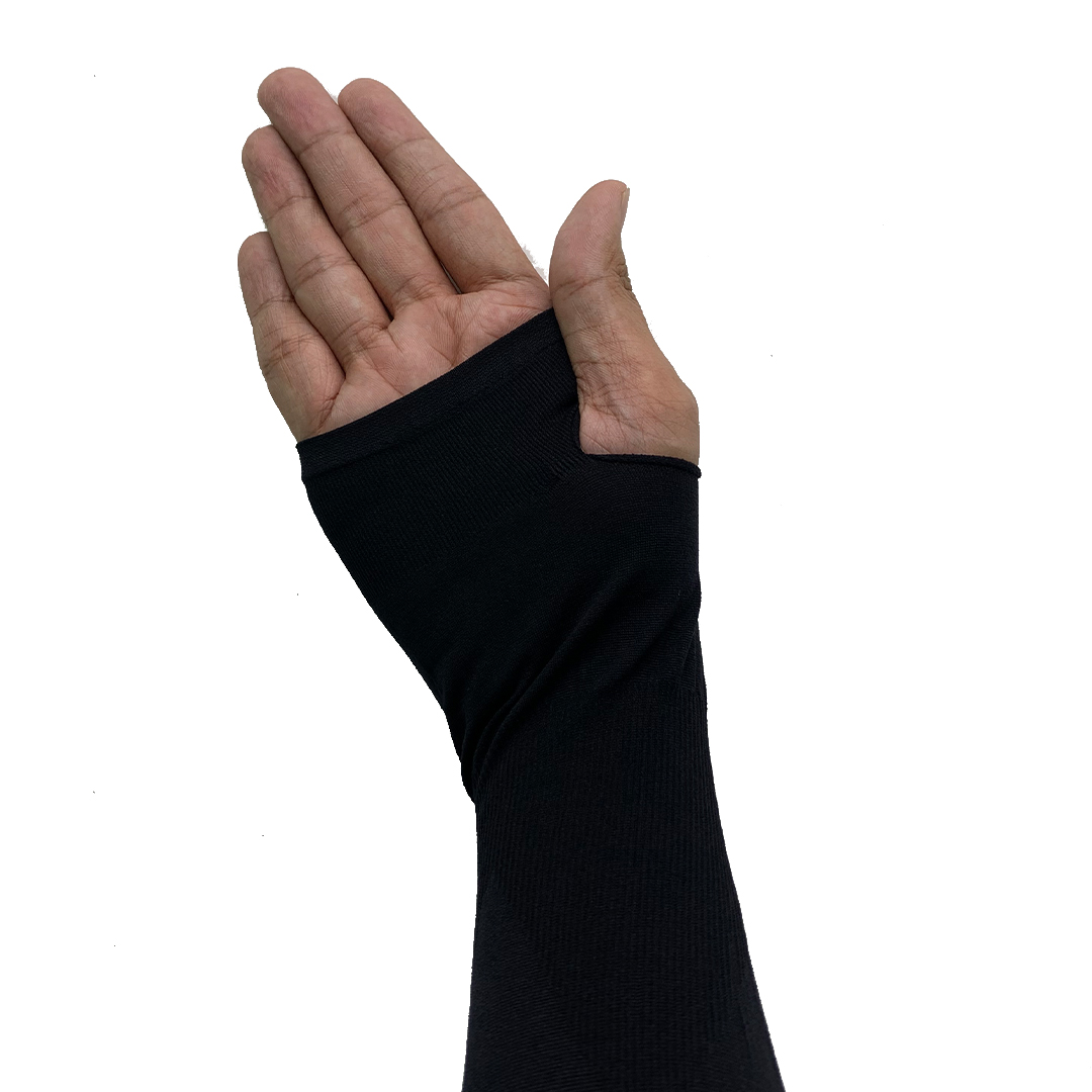 TBF Outdoor Cooling Arm Sleeve with Thumb Hole, sarung lengan lubang ibu jari, biking, riding, cover hand, UV protection sleeve