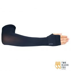 TBF Outdoor Cooling Arm Sleeve with Thumb Hole Black