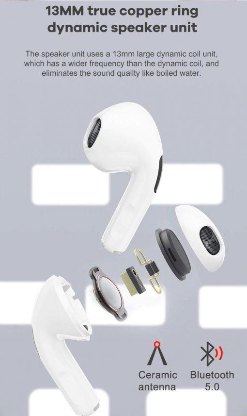 TBF P63 Wireless Bluetooth Earphone 3