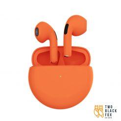 TBF P63 Wireless Bluetooth Earphone Orange