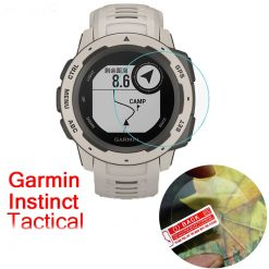 GARMIN Instinct Tempered Glass Screen Protector, protecting, dust, water resistant, jam tangan, lindungi, skrin