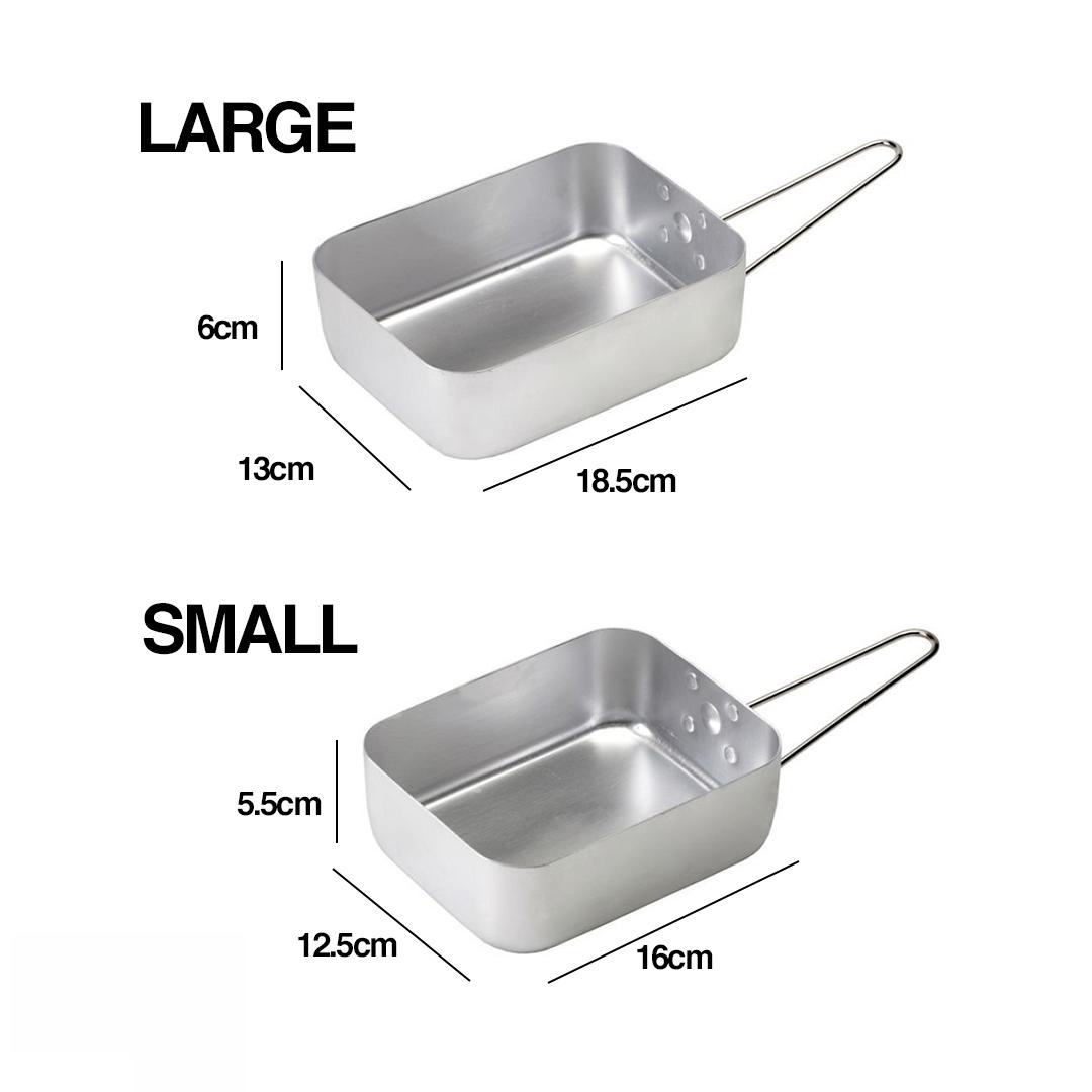 2 pcs Aluminium British Messtin, bowl, bekas, tupperware, cookware, dish, plate, lunch box, washable
