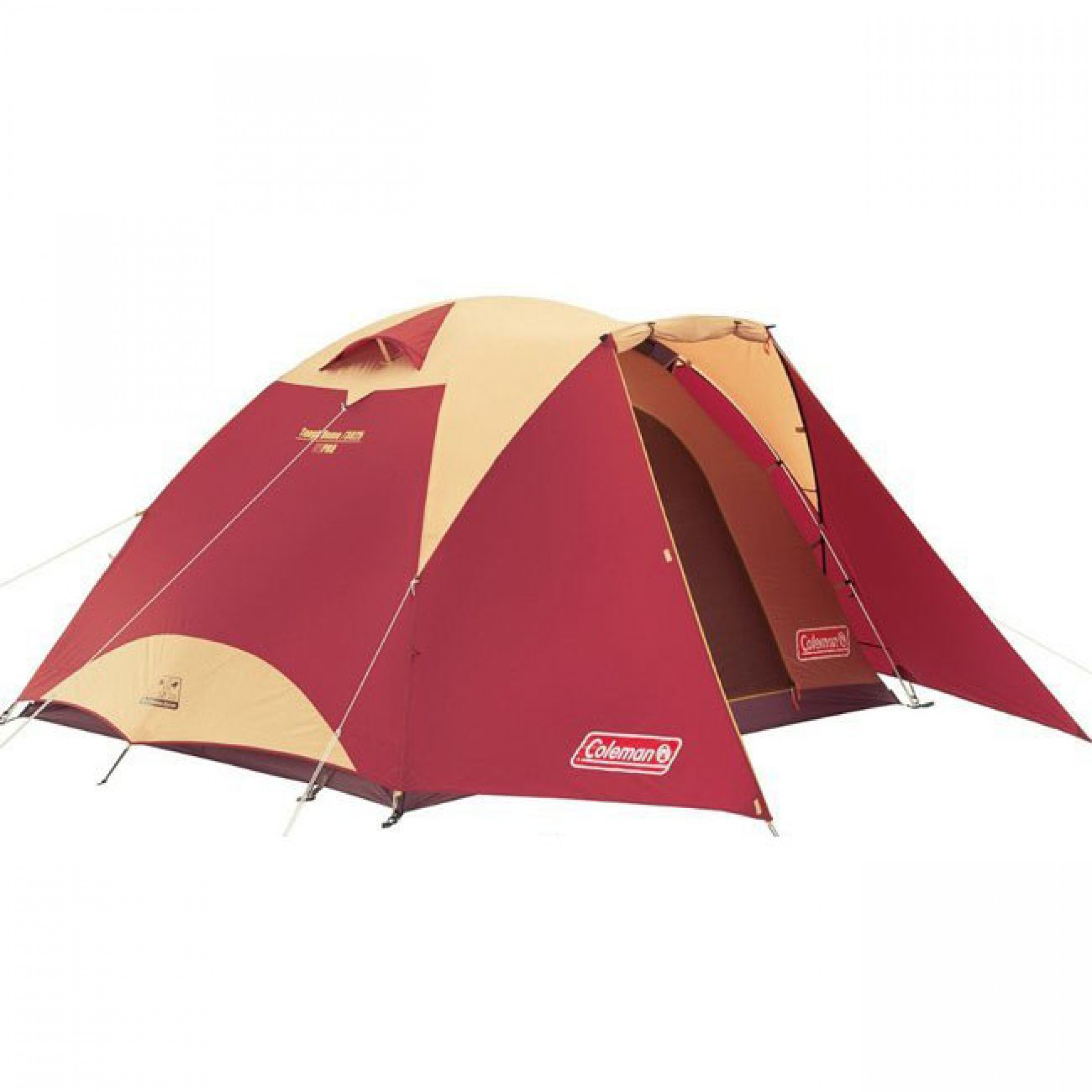 COLEMAN 3025 Tough Dome Tent ; Spacious tent for 4-5 person ; 175cm height, room to stand and move without restriction
