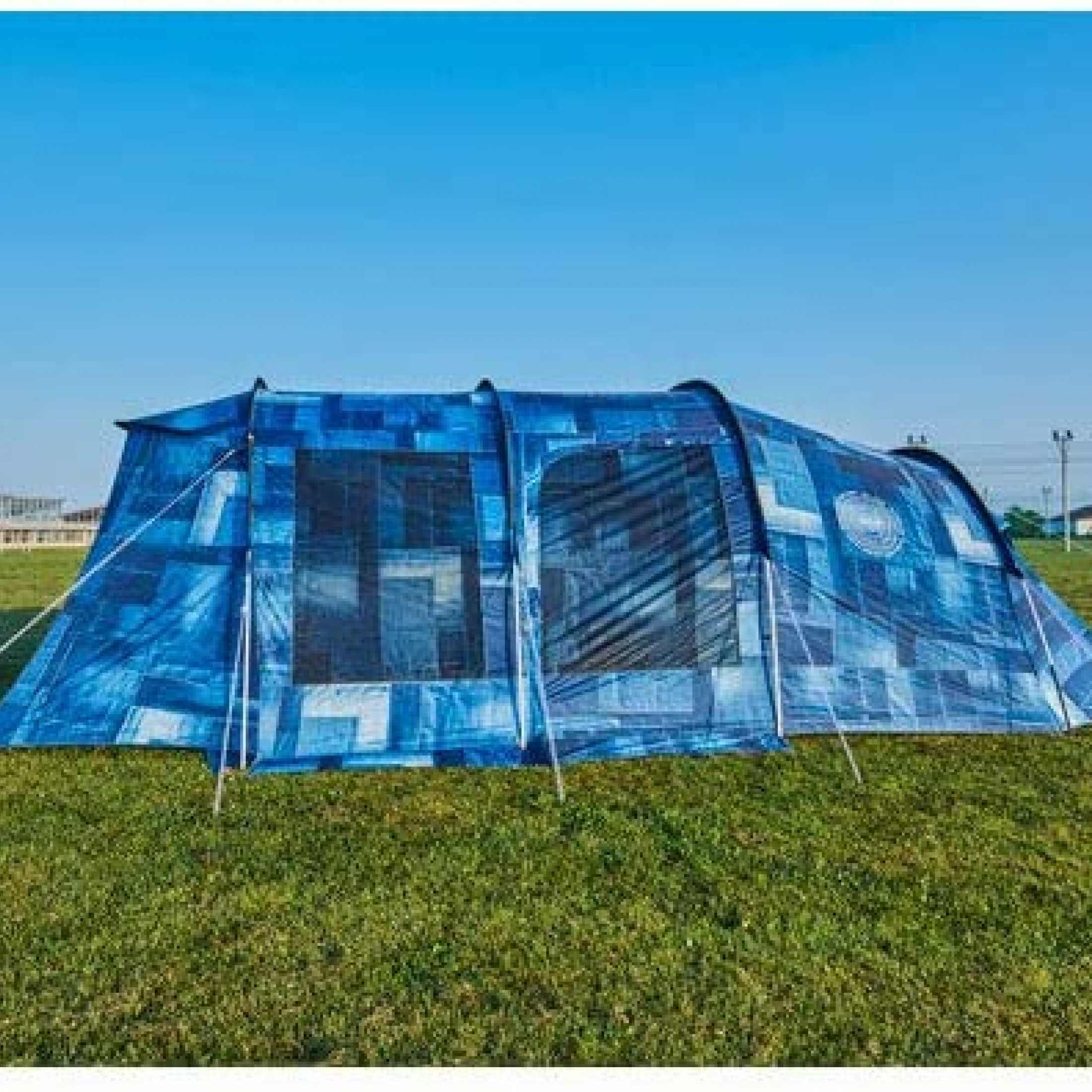 COLEMAN IL Tunnel 2 Room House Denim Tent