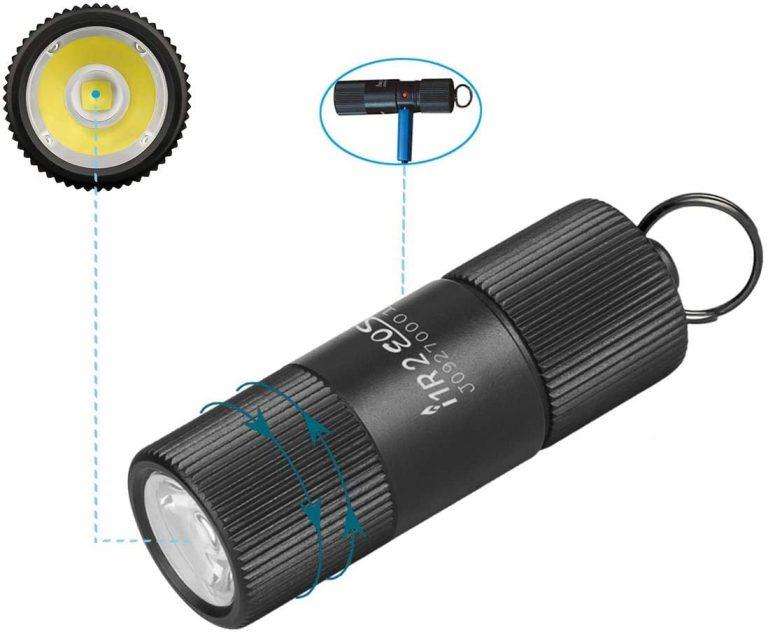 OLIGHT i1R 2 LED Rechargeable Keychain Flashlight