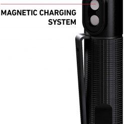 Ledlenser, P2R Work Rechargeable Pen Light, 110 Lumens, Advanced Focus System, Magnetic Charge System