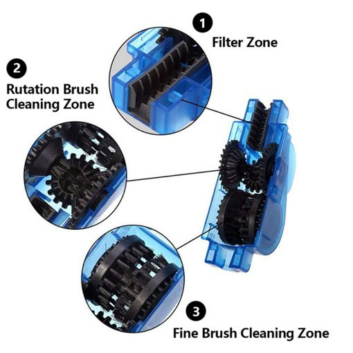 Bicycle Chain Cleaner Brush Set 3