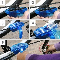 Bicycle Chain Cleaner Brush Set 6