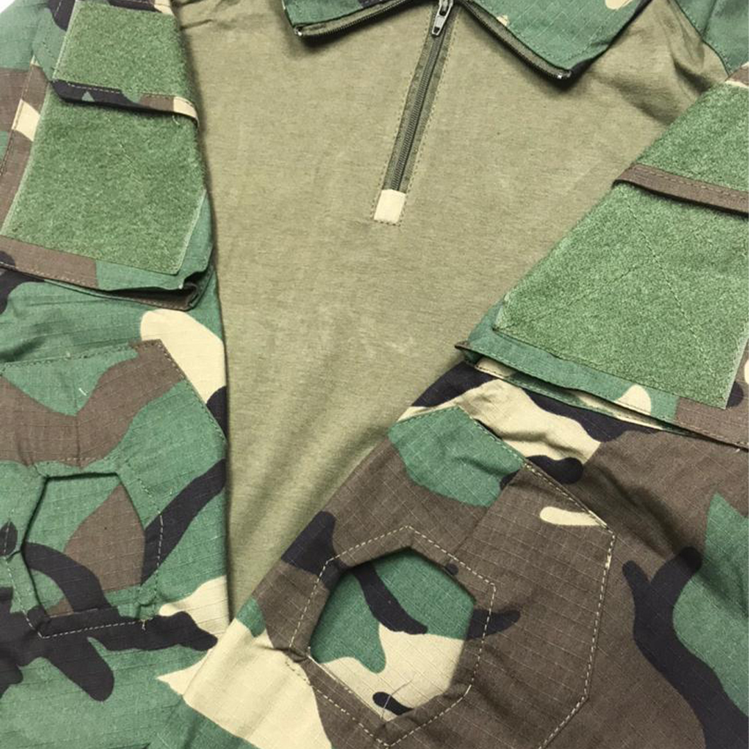 EDSY Long Sleeve Tactical Shirt, baju, lengan panjang, outdoor, lelaki, men, man, lipat, handsome, macho, sado,military