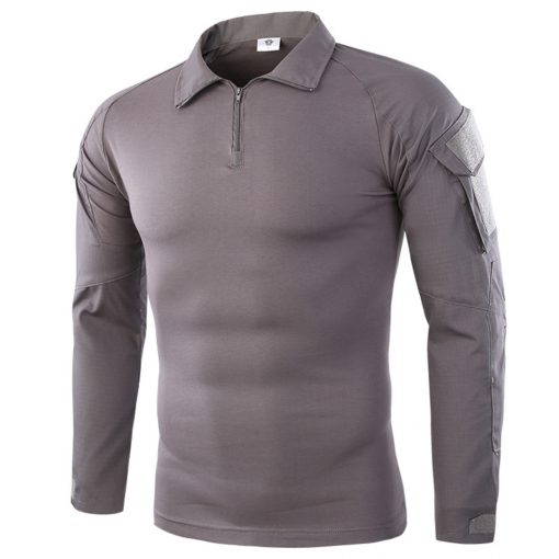 EDSY Long Sleeve Tactical Shirt Grey 1