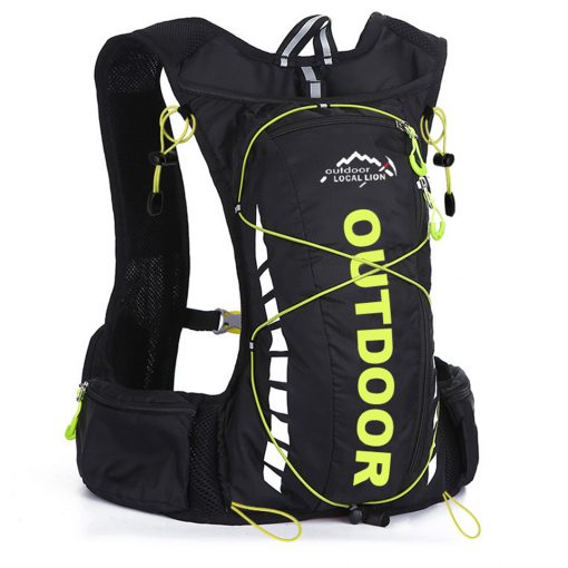 Local Lion Outdoor 10L Hydration Backpack Black