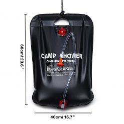 Outdoor Camping Shower Bag 20L 1