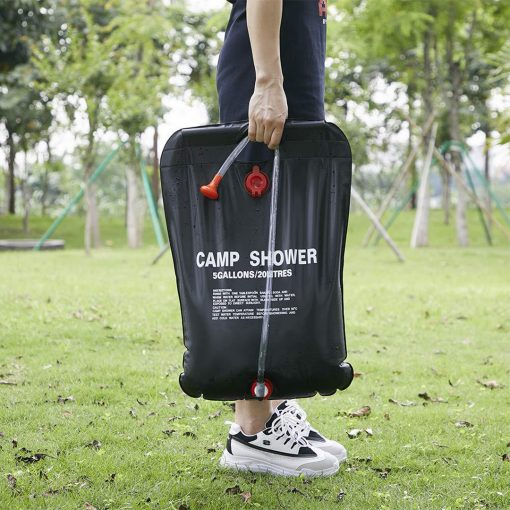 Outdoor Camping Shower Bag 20L 4