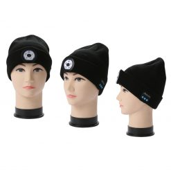 TBF Bluetooth Knitted Hat with LED Light 3