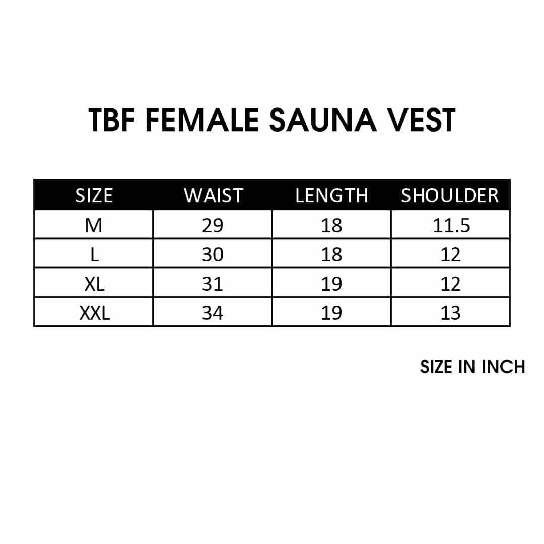 TBF Female Sauna Vest SC 1