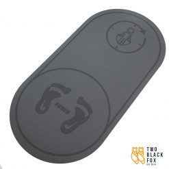 TBF Indoor Skipping Rope Soundproof Mat Grey
