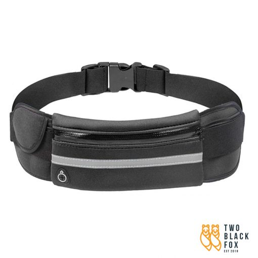 TBF Multipocket Running Belt Black