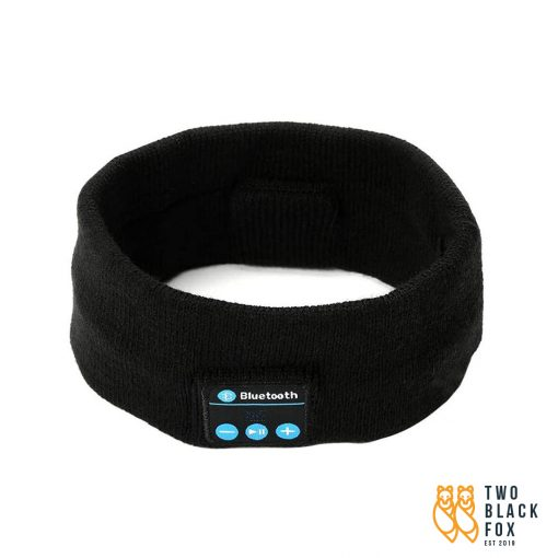 TBF Multipurpose Bluetooth Music Headband Black
