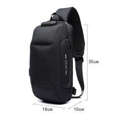TBF OZUKO Anti Theft Sling Bag 1