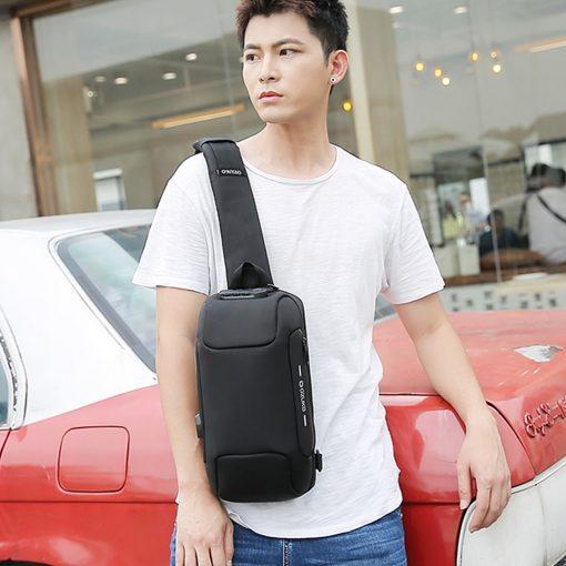 TBF OZUKO Anti Theft Sling Bag 7