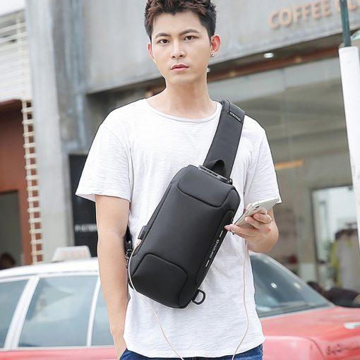 TBF OZUKO Anti Theft Sling Bag 8