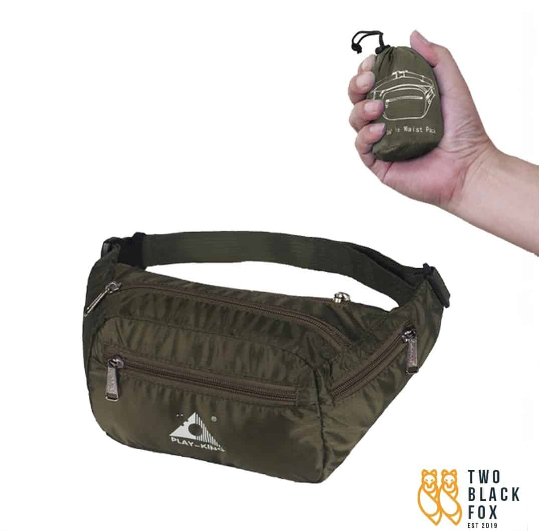 TBF Outdoor Foldable Waist Pouch, Pouch Bag | Pouch Bag For Men | Pouch Bag Lelaki | Small Pouch Bag | Waist Pouch Bag