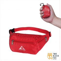 TBF Outdoor Foldable Waist Pouch Red