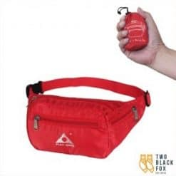 TBF Outdoor Foldable Waist Pouch Red 300x300 1