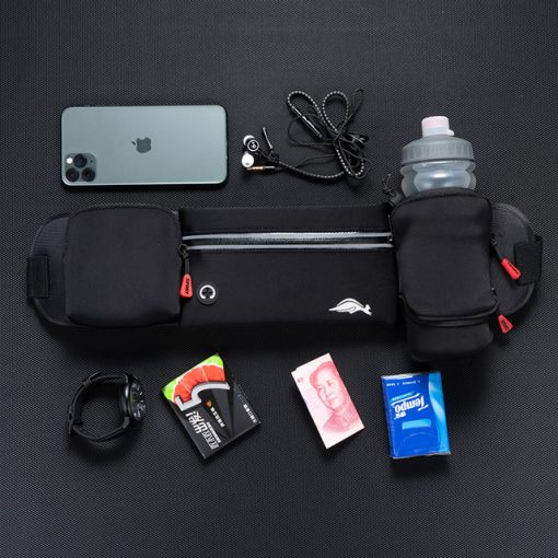 TBF Outdoor Waist Pouch with Water Bottle 1