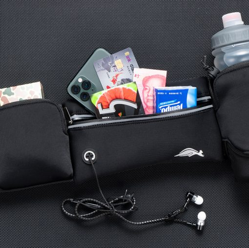 TBF Outdoor Waist Pouch with Water Bottle 6