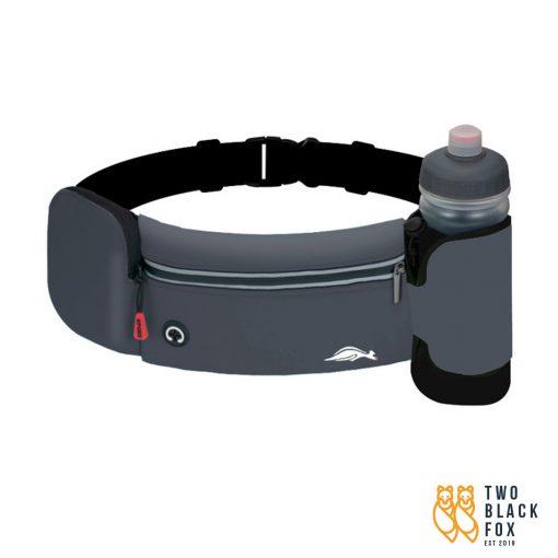 TBF Outdoor Waist Pouch with Water Bottle Dark Grey 1