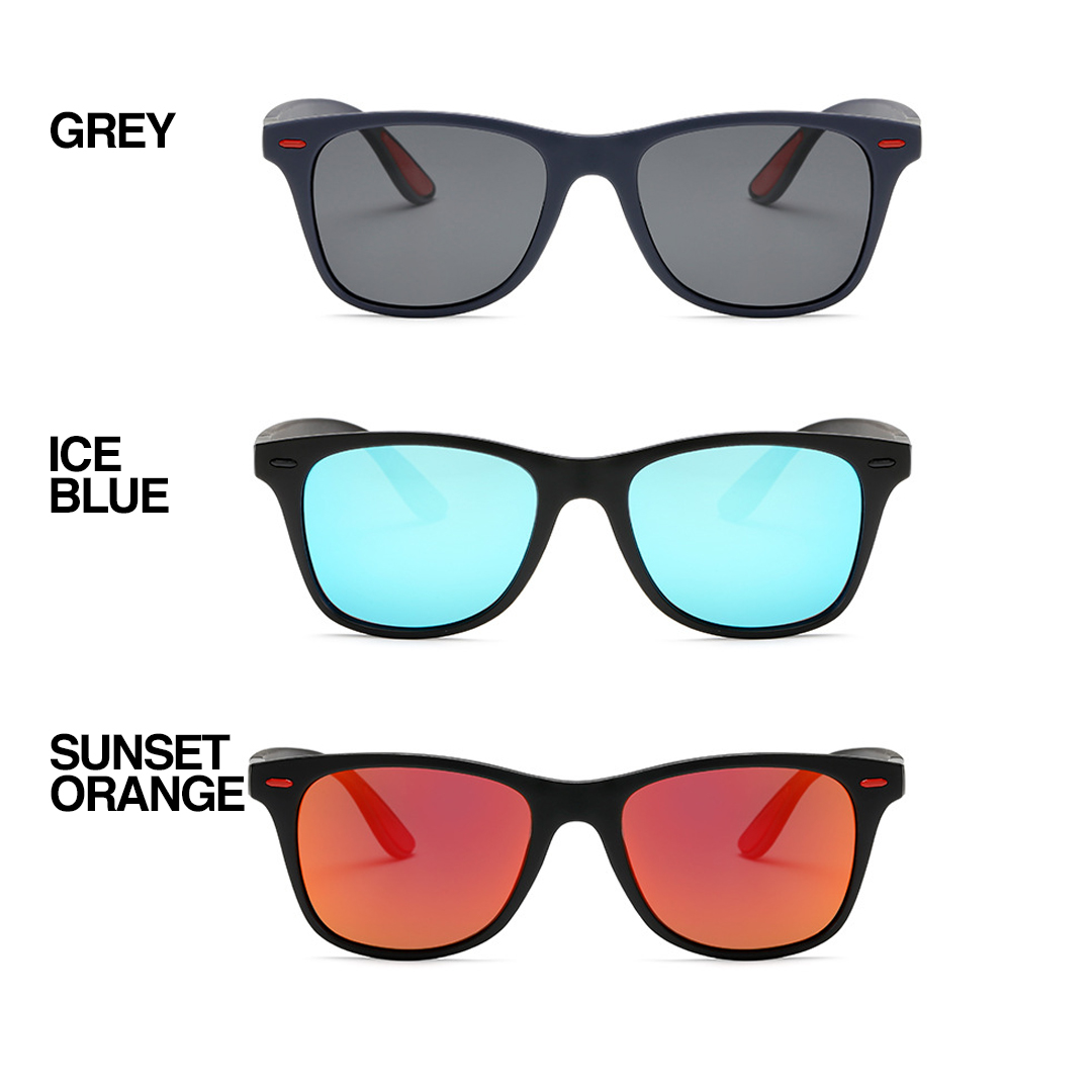TBF P21 Outdoor Sunglasses, Suitable for men and women, cermin mata, polarized, sunkiss, sunlight, kaca mata, power, super, kuasa, frame