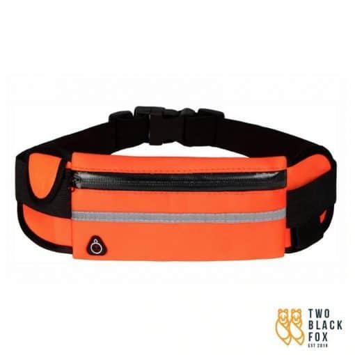 TBF Multipocket Running Belt Orange New