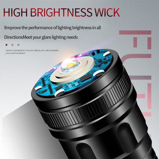 Tahan M11 LED Torchlight 2