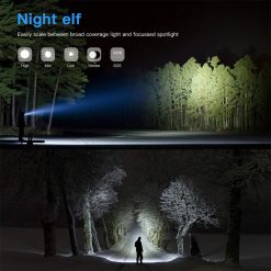 Tahan M11 LED Torchlight 4