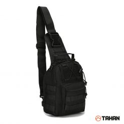 Tahan Multifunction Tactical Sling Bag Black