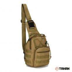 Tahan Multifunction Tactical Sling Bag Khaki