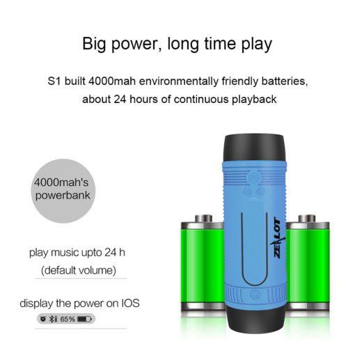 ZEALOT S1 Wireless Bluetooth Speaker 8 2