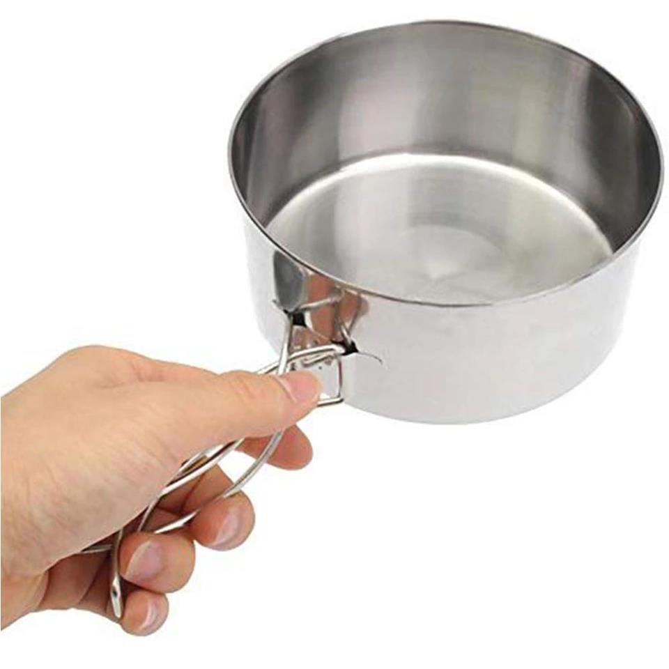 8PCS Stainless Steel Outdoor Cookware