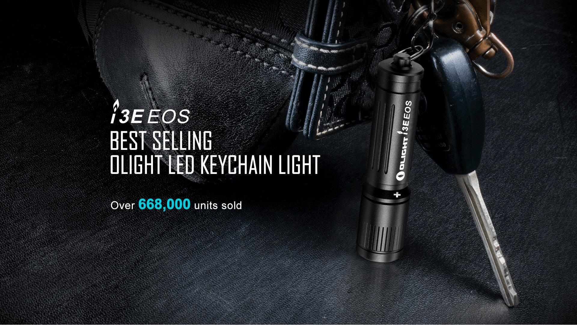OLIGHT I3E EOS LED 90 Lumens Flashlight