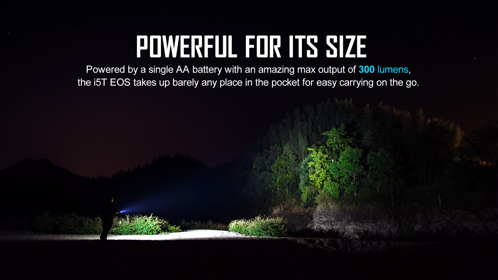 OLIGHT I5T EOS Dual-Output LED 300L Flashlight