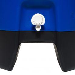 42115 sport 5 gallon roller water jug blue cu spigot