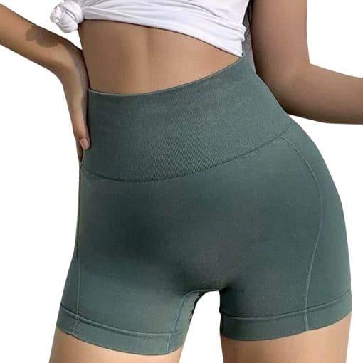 Active Jade Women Shorts Dark Green 2
