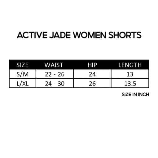 Active Jade Women Shorts SZ